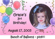 Bunch of Balloons - Pink
