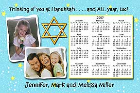 Tradition Hanukkah Photo Card