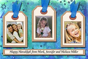 Koala Hanukkah Photo Card