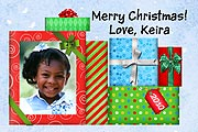 Christmas Gifts Photo Magnets