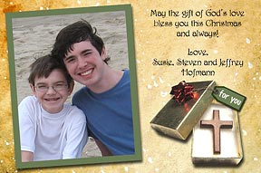 greatest gift photo christmas cards - Christian Christmas Card Sayings