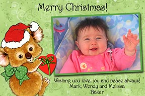 Koala Photo Christmas Cards
