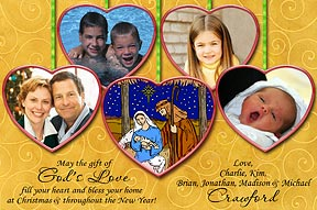 The Heart of Christmas Photo Card