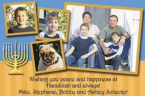 Classic Chanukah Photo Cards