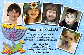 A Very Happy Hanukkah Photo Card