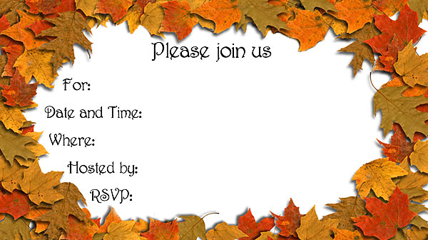 blank fall invitations Minimfagencyco