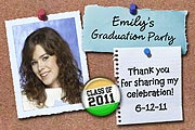 Bulletin Board Photo Graduation Magnets