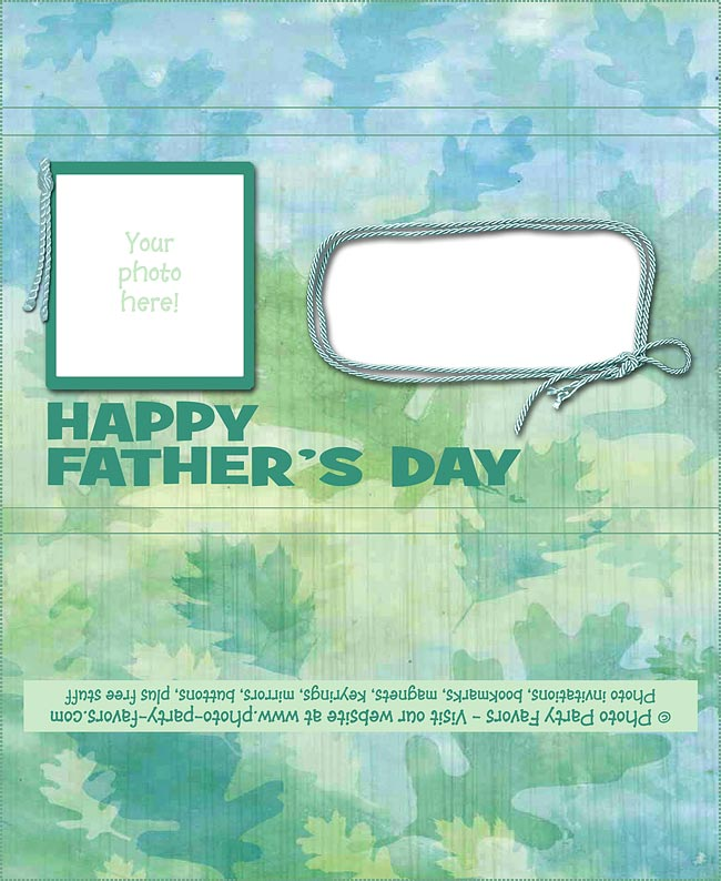 Fathers's Day Day Free Printable Candy Bar Wrapper - add your own photo and text.