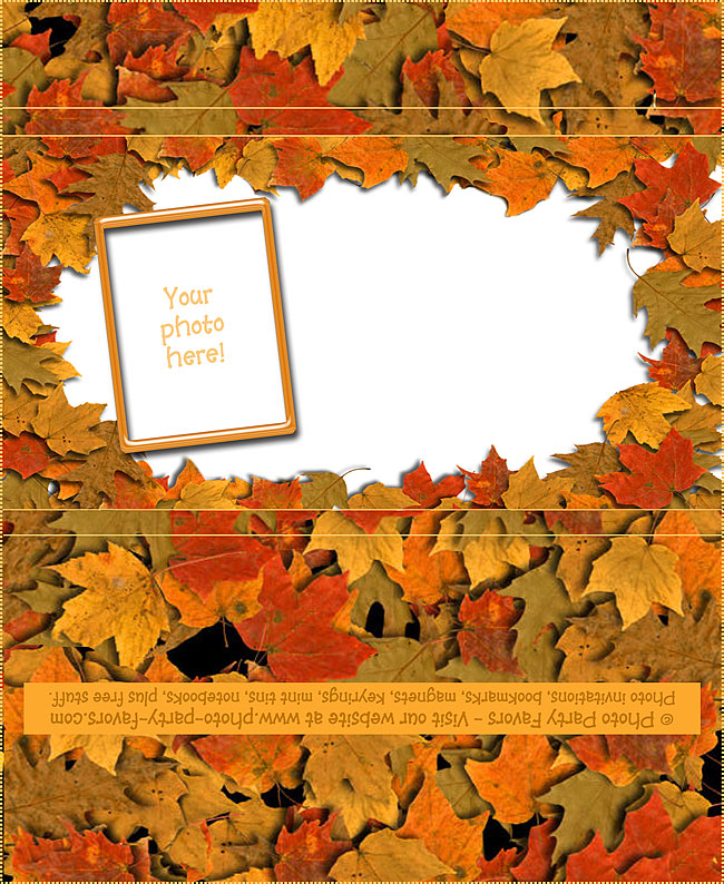 Autumn Leaves Candy Bar Wrapper Free Printable Fall