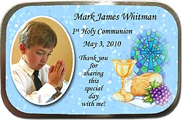 Communion Chalice Unfilled Photo Mint Tin