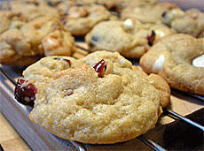 cranberry white chocolate cookie recipe