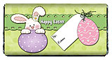 Easter Bunny Gift Tag Candy Bar Wrappers