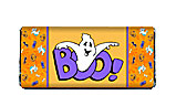 Ghost Halloween Candy Bar Wrapper