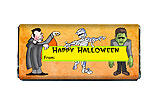 Halloween Monsters Chocolate Bar Wrapper