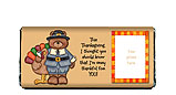 Thanksgiving Thankful Candy Bar Wrapper