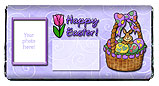 Easter Basket Candy Bar Wrapper