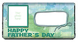 Father's Day Summer Leaves Candy Bar Wrappers