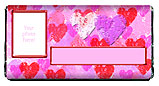 Valentine Hearts Candy Bar Wrapper