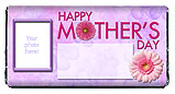 Mother's Day GerbernDaisyCandy Bar Wrapper