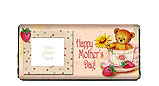 Mother's Day Teddy Bear Candy Bar