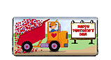 On The Road Valentine Candy Bar Wrapper