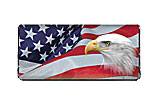 Patriotic Eagle 4th of July Chocolate Bar Wrapper