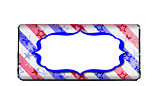 Stars and Stripes Red White and Blue Candy Bar Wrappers