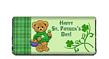 St. Patrick's Day Teddy Bear Candy Bar Wrapper