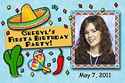 Fiesta Photo  Magnet for fiesta theme party