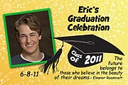 Fireworks Photo Graduation  Magnets