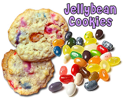 Easter cookie recipe features jelly beans!
