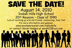 Class Reunion Favors Personalized Souvenirs for Your High School