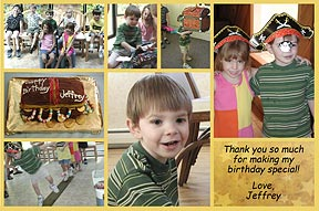 Multi Thanks Photo Thank You Card