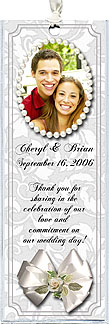 Photo Wedding Bookmarks - Photo Favors For Your Wedding