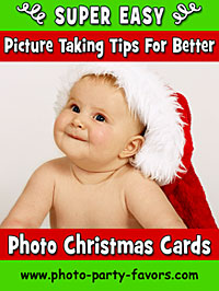 Super Easy Picture Taking Tips For Better Photo Christmas Cards from www.photo-party-favors.com