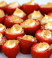 cheesecake stuffed strawberries recipe
