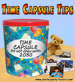 time capsule tips