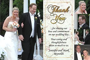 Timeless Photo Thank You Cards