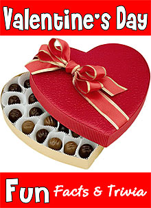 fun Valentine's Day facts and trivia