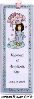 Cartoon Shower Girl